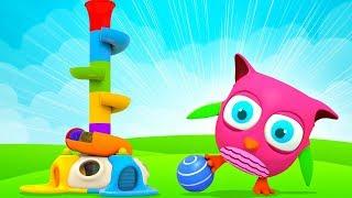 Download Горка с шариками - Сборник Совенок Хоп Хоп для маленьких детей Mp3 and Videos