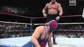 The Warlord Vs Blue Blazer WWF 1989