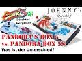 Pandoras Box 5 vs. Pandoras 5S - was ist der Unterschied? Ein direkter Vergleich! Review auf Deutsch