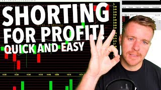 SHORTING INTO STRENGTH PREMARKET! WHY? $800 PROFIT!