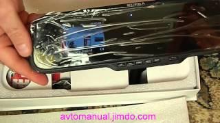 Видеорегистратор Supra-537m часть 1. Распаковка