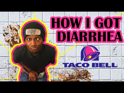 I got Taco Bell Diarrhea and blew the toilet up in public! ( taco bell poop )