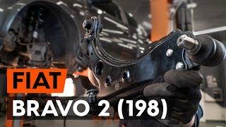 Instalace přední a zadní Řídící páka zavěšení kol FIAT BRAVA: video příručky