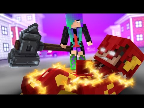 Thumbnail: Minecraft THE FLASH - POWERLESS (Minecraft Roleplay)