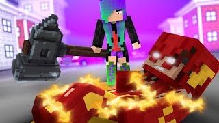 One of FavreMySabre's most viewed videos: Minecraft THE FLASH - POWERLESS (Minecraft Roleplay)