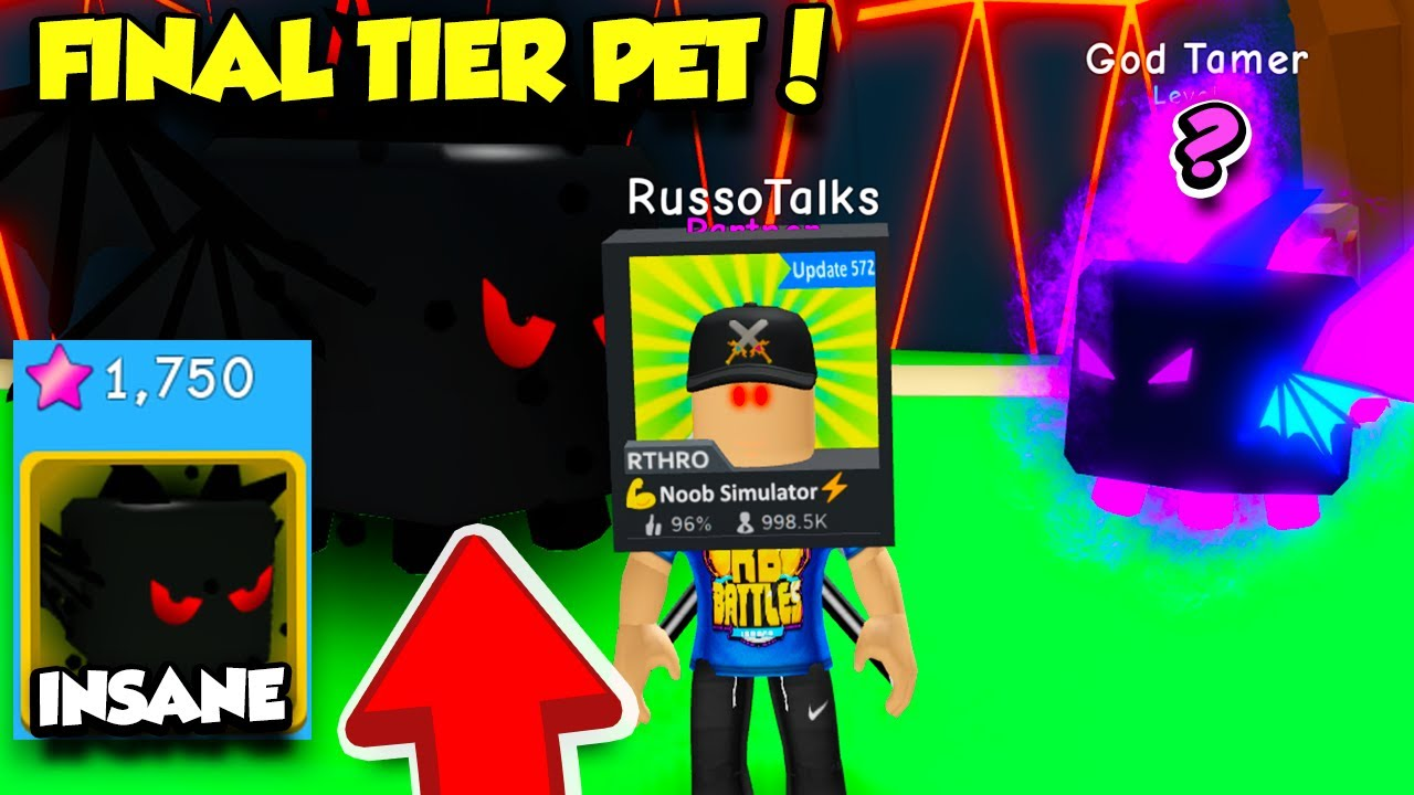 Roblox Bgs God Tamer You Have To See The Final Premium Magma Pet In Bubble Gum Simulator Update Roblox Youtube