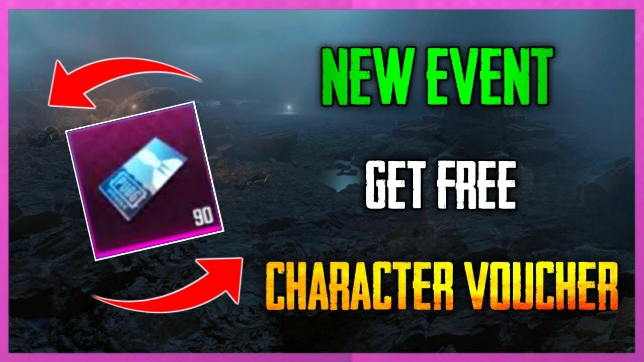 New Event : Get Free Character Voucher on Pubg Mobile / Kumari Gamer