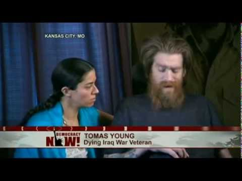 "Exclusive: Dying Iraq War Veteran Tomas Young Reads ""Last Letter"" to President Bush and Dick Cheney"