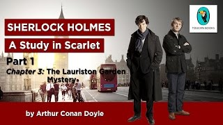 Sherlock Holmes: A STUDY IN SCARLET - AudioBook - Part 1, Chapter 3: The Lauriston Garden Mystery