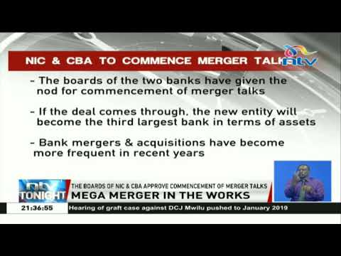 The boards of NIC and CBA approve commencement of merger talks