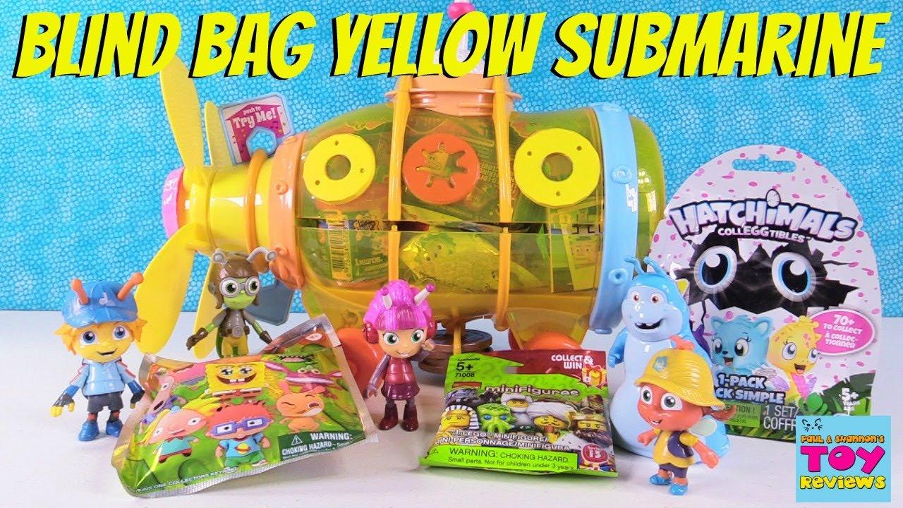 Hatchimals Num Noms Shopkins Disney Blind Bag Yellow