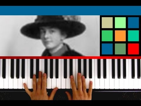 "How To Play ""The Little Drummer Boy"" Piano Tutorial / Sheet Music (Katherine Kennicott Davis)"