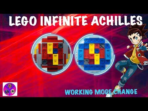 100% WORKING INFINITE ACHILLES! | LEGO infinite Achilles Review | BEYBLADE Burst Super King