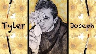 Speed Drawing Tyler Joseph Floral