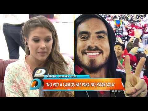 Barbie Vélez sobre Bailando: Por contrato no me voy a cruzar con mi ex