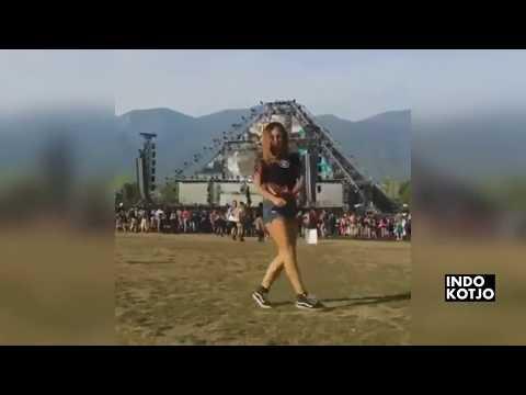 shuffle  dance girl DJ remix aisyah maimunah