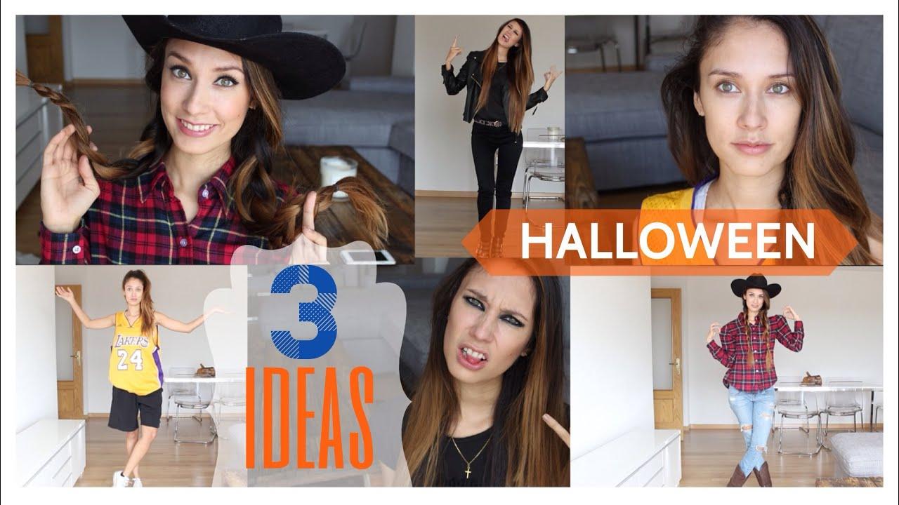 disfraz de halloween en 5 min