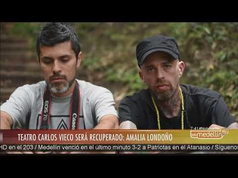 Teatro Carlos Vieco Ortiz será recuperado para programación cultural [Noticias] - Telemedellín