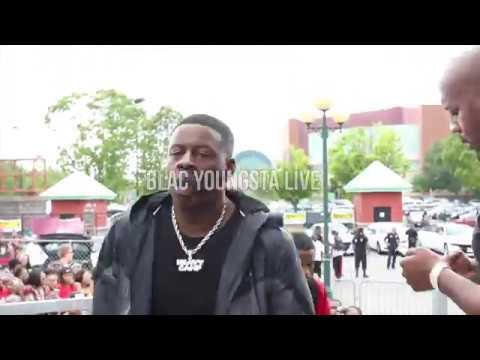 Blac Youngsta  102 Jamz Car Show 2018