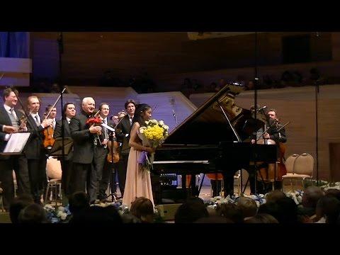 Shio Okui (11) _Mozart Piano Concerto No.21 K.467 with Vladimir Spivakov & Moscow Virtuosi _ 奥井紫麻