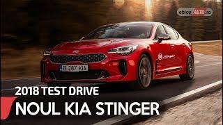 2018 KIA STINGER 3.3 Biturbo T-GDI 370CP 4x4 GT | TEST DRIVE eblogAUTO