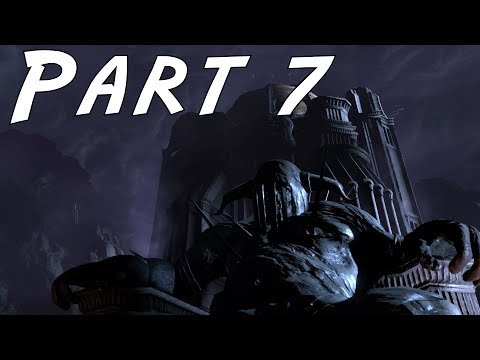 God Of War 3: Remastered Walkthrough Gameplay Part 7 - The Palace of Hades Boss Fight - PS4 1080P HD