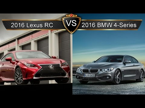2016 Lexus RC Vs. BMW 4-series: By The Numbers