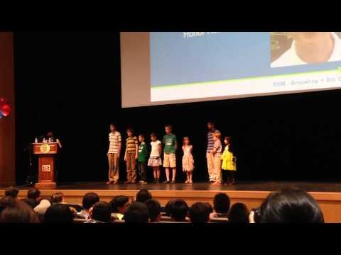 Award Ceremony of RSM Olympia Winners and Math Kangaroo Winners June 21, 2015