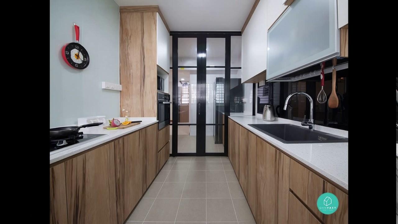 Hdb Small Kitchen Design Ideas Youtube