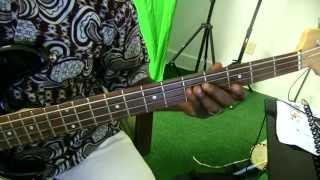 Ijoba Orun by lara George - Bass Guitar tutorial by David Oke (AGS)