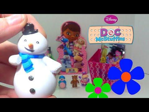 Doc McStuffins Blind Bags Toys ❤ Disney Jr. cartoon Doc McStuffins