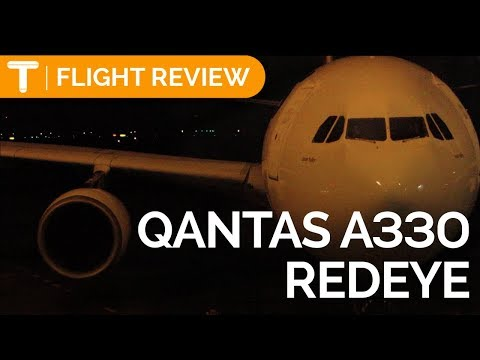 Qantas REDEYE Airbus A330-200   Perth To Sydney Flight Review