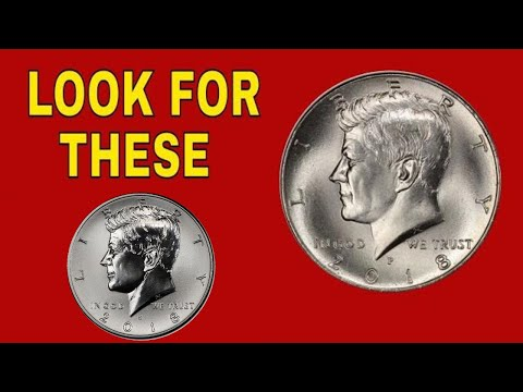 2018 Kennedy Half Dollars To Look For! Half Dollar Coins Worth Good Money!