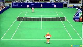 Tennis Elbow gameplay (PC Game, 1997)