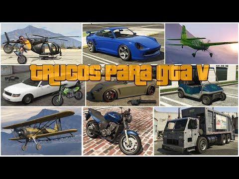GTA 5: Trucos para Grand Theft Auto V | PS4 - PS3 | Xbox One - Xbox 360 [Todos los Trucos]