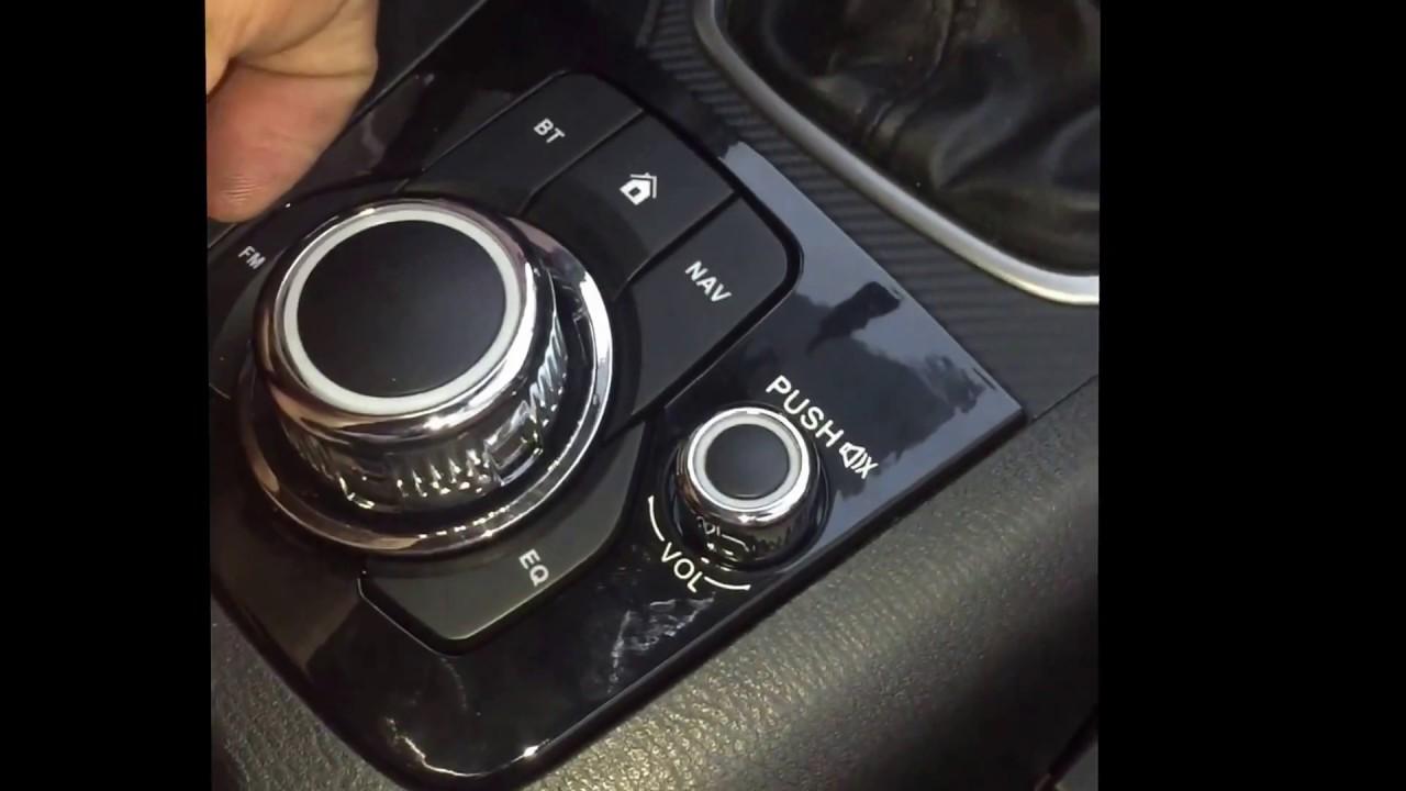 Cambiar radio Mazda 3 2015-2016-2017 (Stereo removal)