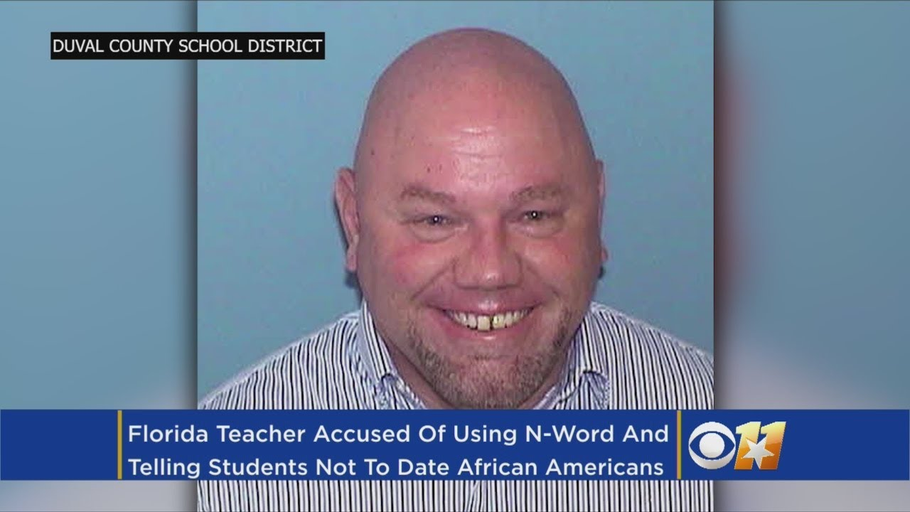 """Florida Teacher Tells Class African Americans Are """"Not Worth"""" Dating"""