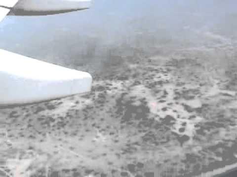 Air Landing in Accra,Ghana [HD]