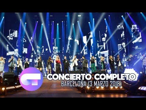 Gira OT 2017 | Palau Sant Jordi - Barcelona | CONCIERTO COMPLETO (3 Marzo 2018) #OTConciertoBCN