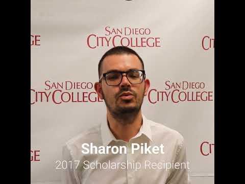 Friends of Downtown San Diego Scholarship recipient, Sharon Piket, San Diego City College student