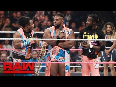 """The New Day reveal which Superstar is still """"hot garbage"""": Raw, Oct. 10, 2016"""