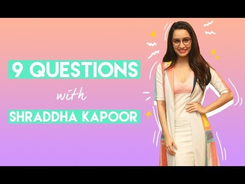 #HauteHangout: 9 Questions With Shraddha Kapoor