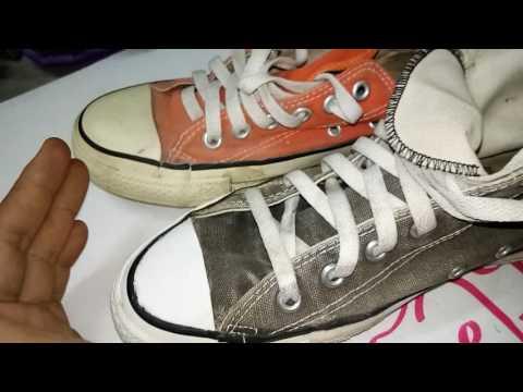วิธีการดูรองเท้า converse USA งานซ่อม