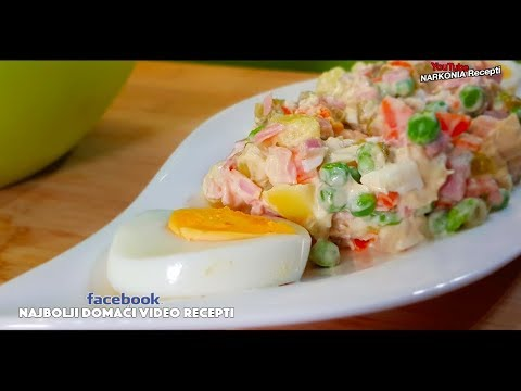 Ruska Salata Od Praznika Do Praznika Recept
