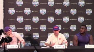 2014 Russell Athletic Bowl - Clemson Postgame Press Conference