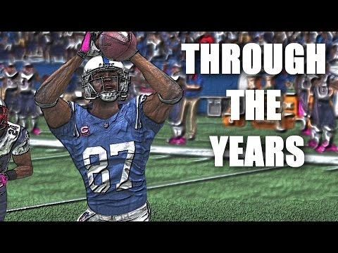 Reggie Wayne Through the Years - NCAA Football 99 - Madden 16