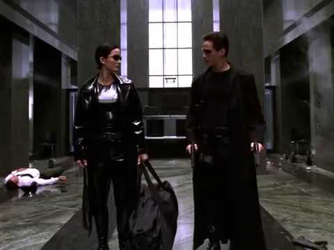 "The Matrix Government Lobby Scene Making of ""Dutch Subtitles"""
