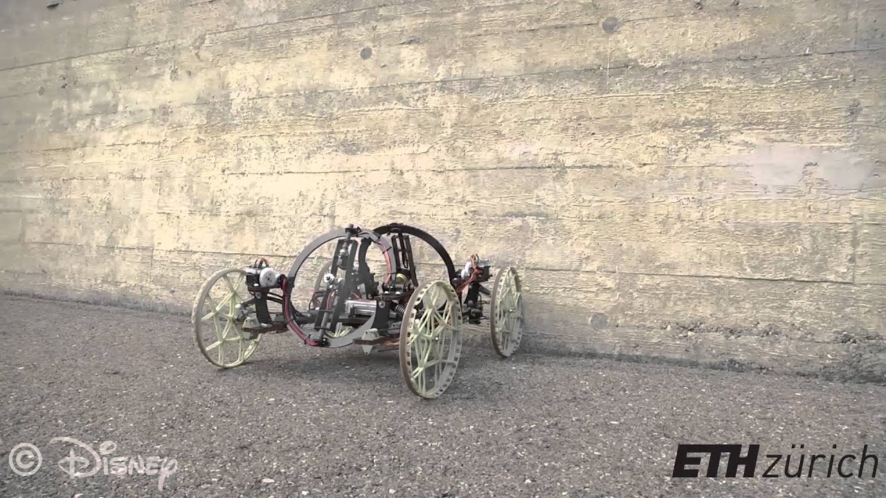 wall climbing robot A prototype of a wall-climbing robot with gecko-mimic adhesive pedrails was developed to demonstrate the adhesive ability of micron adhesive arrays the robot has two parallel pedrails driven by a dc.