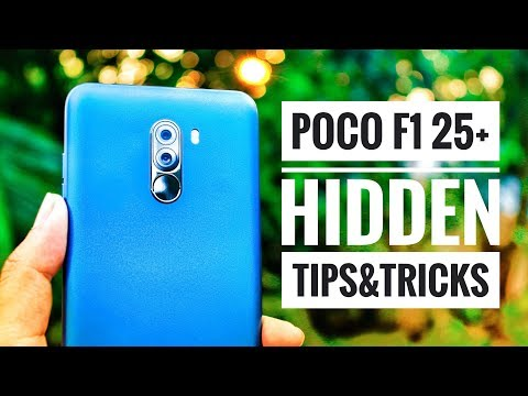 25+ Hidden Features Of Poco F1 | New Tips And Tricks | By TubeTech