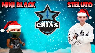 X1 DOS CRIAS NATALINO - MINI BLACK X EL OUSADO - FIEXX SURPREENDE PIUZINHO - CLIPES FREE FIRE